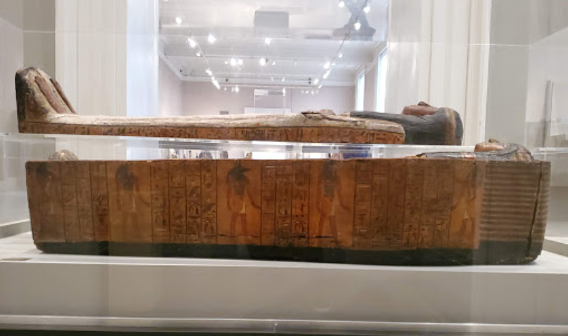 Sarcophagus in Brooklyn Museum